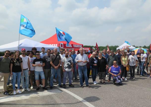 Fedex Tnt, lavoratori in corteo a Torino