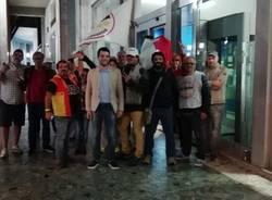 Movimento 5 stelle in piazza Monte Grappa