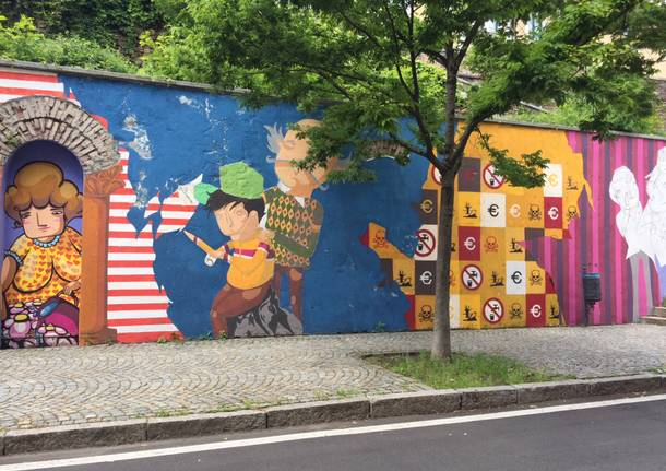 murales via binda castellanza