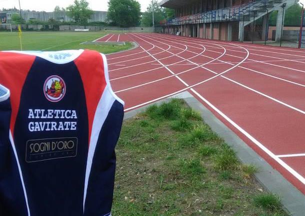 nuova pista atletica leggera gavirate 2018