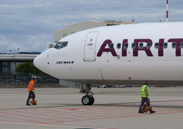 nuovo B737 max Air Italy
