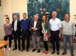 Porto Ceresio - Visita dell'assessore regionale  Stefano Bruno Galli