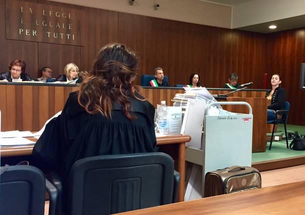 processo faraci tribunale busto arsizio