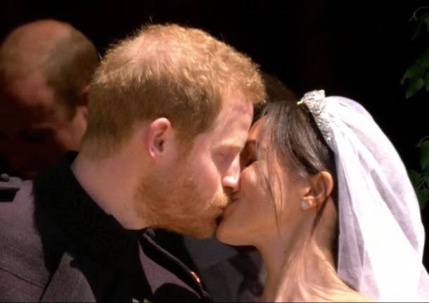 Royal wedding: il principe Harry e Meghan Markle sposi