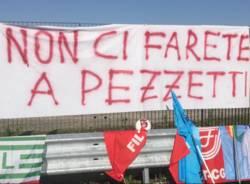 sciopero presidio Fedex Malpensa