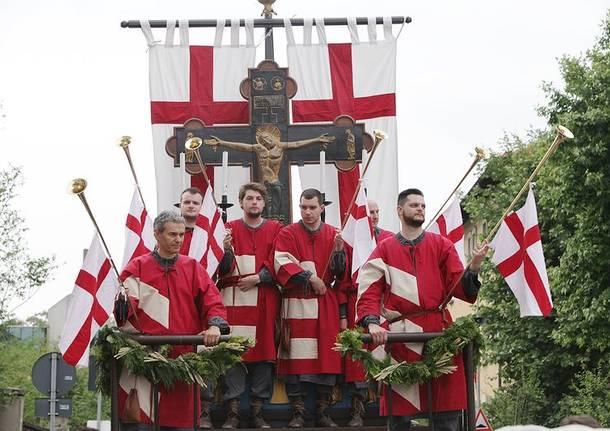 La sfilata storica al Palio di Legnano