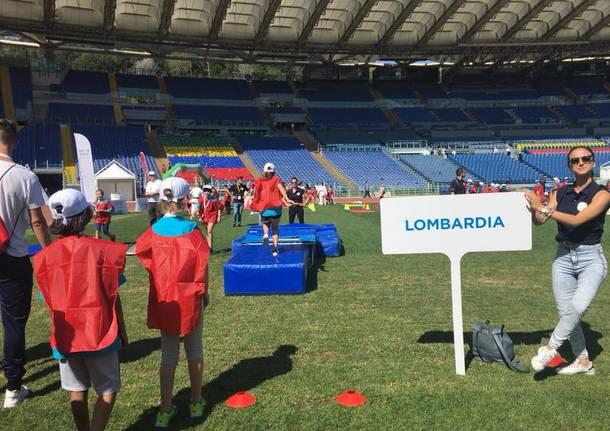 Sport di classe: i bimbi di Varano all'Olimpico