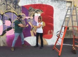 street art paola magugliani sirskape francesco scapolatempore