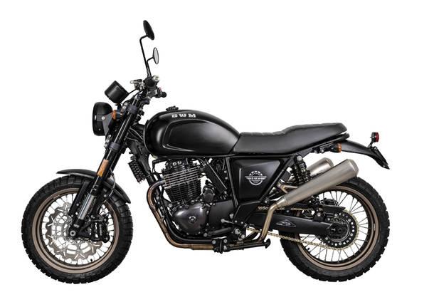Swm presenta la nuova moto