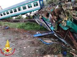 Torino - Incidente ferroviario Caluso