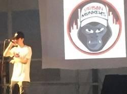 urban monkeys  on stage talent show maggio 2018