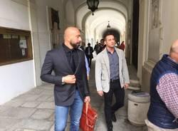 Varese Calcio, incontro Berni - Galimberti