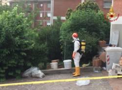 vigili del fuoco sostanze chimiche