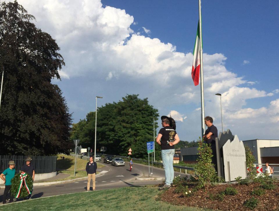 Brunello - Inaugurata la rotonda