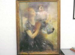 I dipinti recuperati dai carabinieri di Stresa