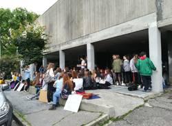 La protesta dell\'artistico