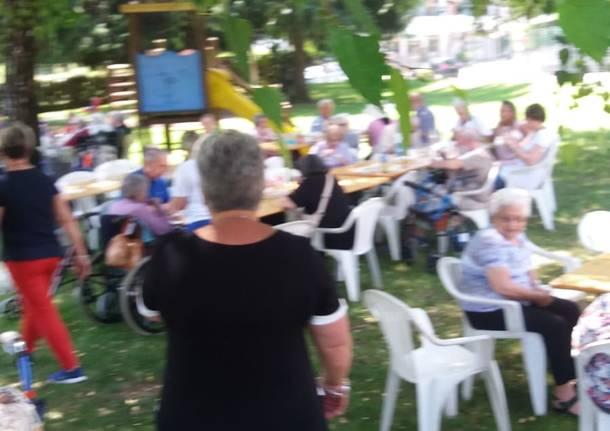 La festa degli anziani