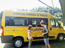 Il nuovo scuolabus di Ferrera