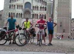 In bici da Santa Rita