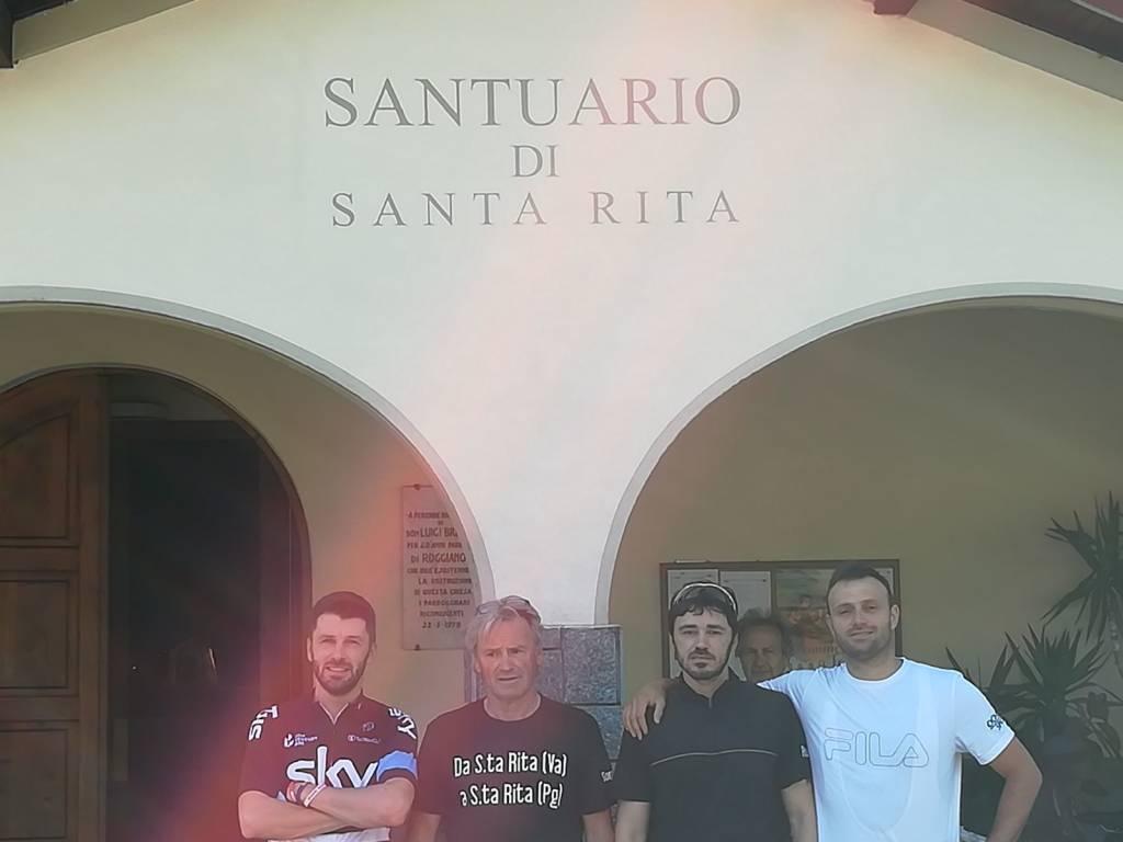 In pellegrinaggio da Santa Rita