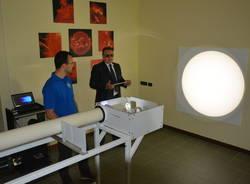 Il super laboratorio all\'Osservatorio Schiapparelli