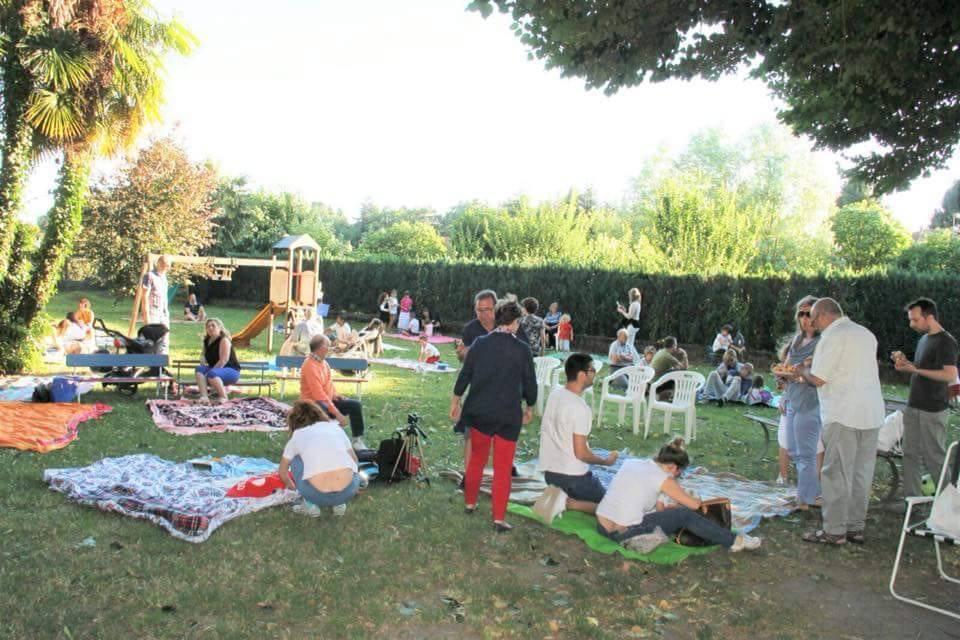 La festa dell\'asilo di Caldana