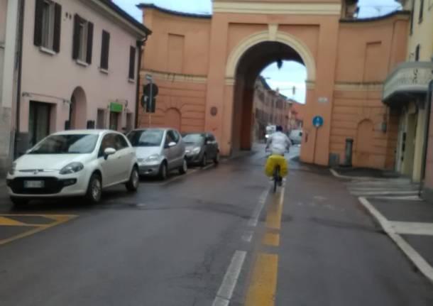 In bici a Santa Rita da Cascia