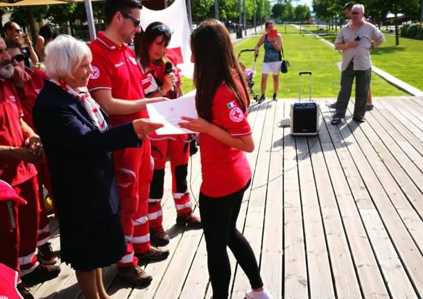 I nuovi volontaria della Croce Rossa