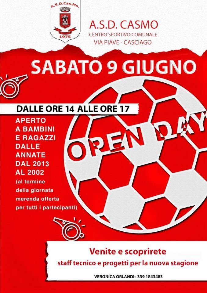 Casmo Open day
