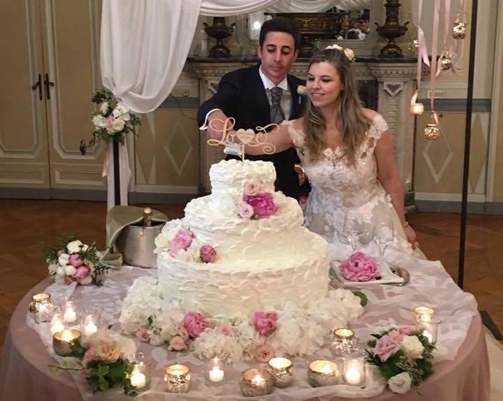Chiara e Alessandro sposi