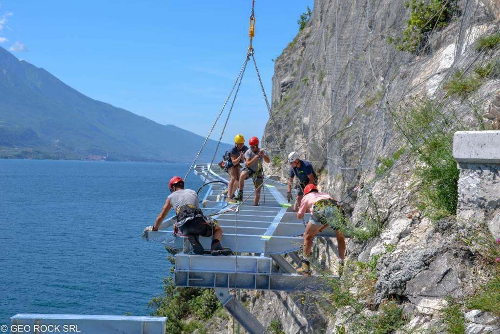 ciclopedonale lago di Garda
