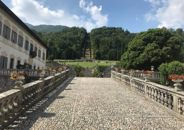 Da Sacro Monte a Villa della Porta Bozzolo