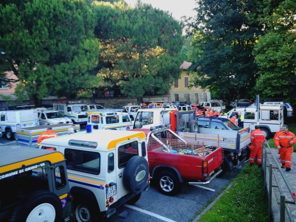 Esercitazione antincendio Campo dei Fiori 2018