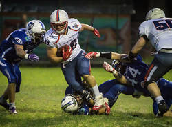 football americano warriors blue storms 2018