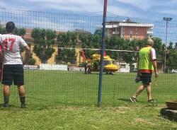 elisoccorso campo da calcio