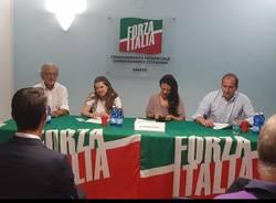 Giusy Versace alla sede di Forza Italia