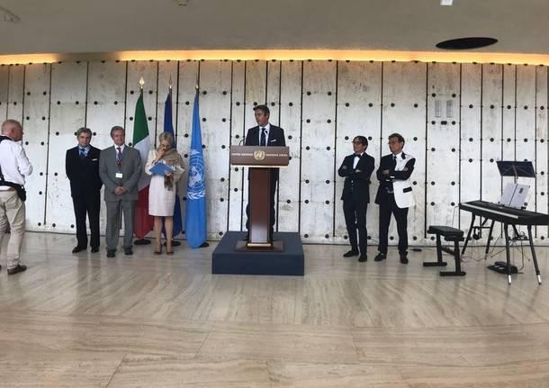 Homini e Novecento in mostra al palazzo dell'Onu a Ginevra