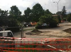 IL nuovo parcheggio di valle Olona
