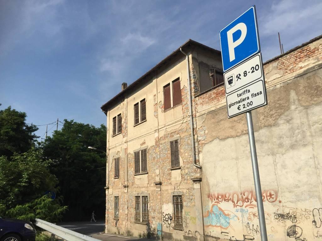 IL nuovo parcheggio di via Cimone