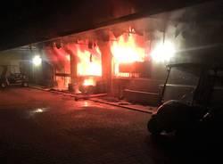 incendio golf club le robinie giugno 2018
