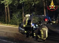 incidente notte vigili del fuoco