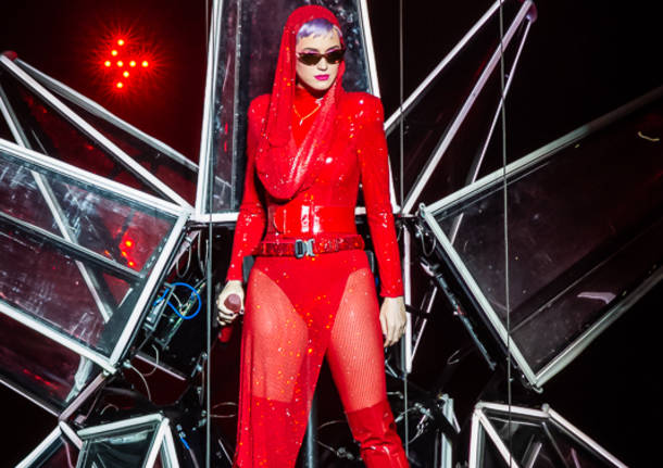 Katy Perry in concerto all'Unipol Arena