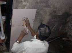 La ricostruzione della casa famiglia di Mumbai