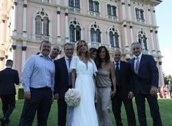 """Matrimonio Daniele Bossari e Filippa Lagerback: le """"altre"""" foto"""