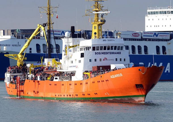 Migranti - Nave Aquarius