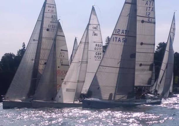 partenza vela regata sulla rotta dei mazzarditi