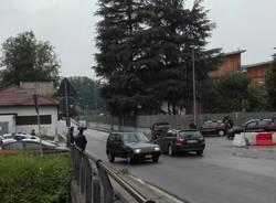 posto di blocco controlli carabinieri busto arsizio