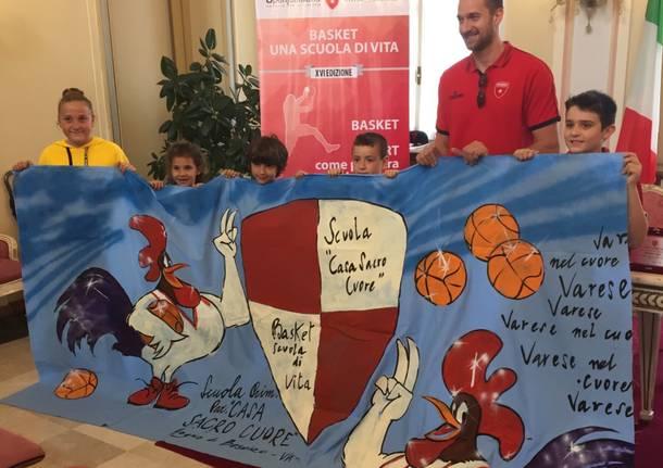 premiazioni basket una scuola di vita 2018
