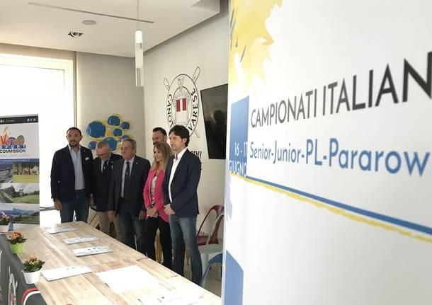 presentazione campionati assoluti italiani