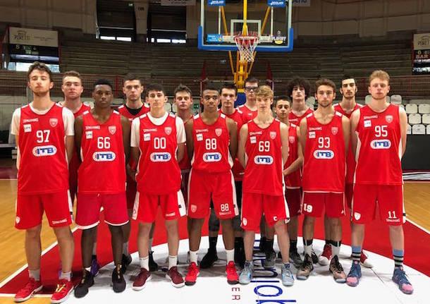 squadra pallacanestro varese under 18 2018